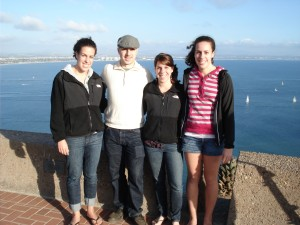 Rich with his three younger sisters